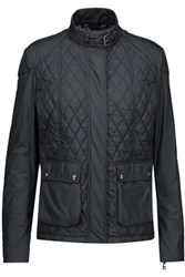 Belstaff Aynsley Quilted Shell Jacket Midnight Blue