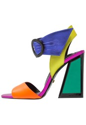 Kat Maconie Ray High Heeled Sandals Multi Brights Multicoloured