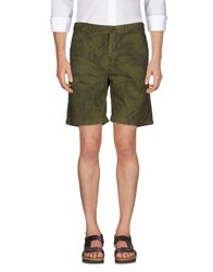 Golden Goose Deluxe Brand Bermudas Military Green