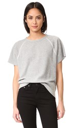 Rag And Bone Rocky Sweatshirt Heather Grey