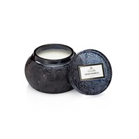 Voluspa Japonica Embossed Glass Candle Moso Bamboo