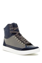 French Connection Fenton High Top Sneaker Gray