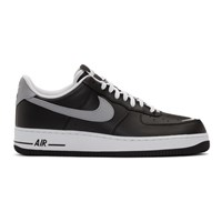 Nike Black And White Air Force 1 07 Lv8 4 Sneakers