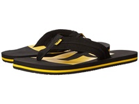 Dc Central Black Yellow Men's Sandals Gray