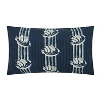 William Yeoward Marielle Cushion 60X40cm Indigo