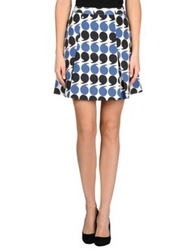 Boy By Band Of Outsiders Knee Length Skirts Pastel Blue