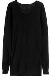 Rick Owens Cashmere Sweater Black