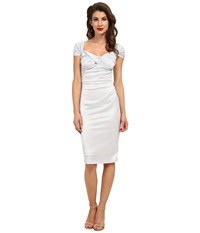 Stop Staring Fortune Dress Silver Women's Dress