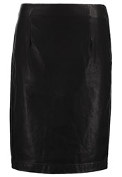 Opus Rubio Pencil Skirt Black
