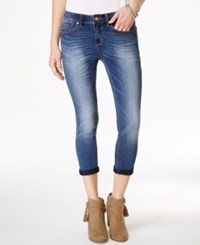 American Rag Juniors' Denim Wash Cropped Skinny Jeans Only At Macy's