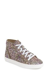 Women's Steve Madden 'Levels' Glitter High Top Sneaker