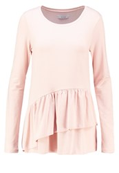 Vila Viofficiel Long Sleeved Top Rose Dust