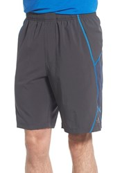 The North Face Men's 'Voltage' Flashdry Training Shorts Grey Blue