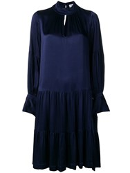 Closed Tiered Rio Dress Blue