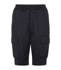 Juun.J Relaxed Lounge Shorts Navy