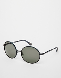 Vivienne Westwood Round Sunglasses In Black