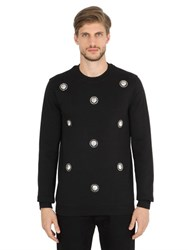 Versus Lion Studs Cotton Sweatshirt