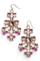 Women's St. John Collection Swarovski Crystal French Wire Earrings