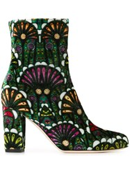 Brian Atwood 'Talise' Boots Multicolour