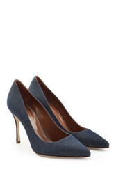 Sergio Rossi Denim Pumps