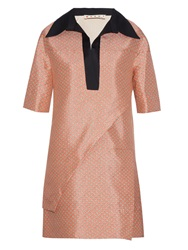 Marni Blossom Print Layered Tunic Dress