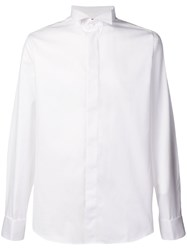 Canali Slim Fit Shirt White