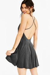 Cxm Ballerina Slip Dress Black