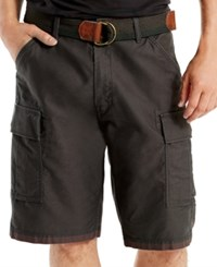 Levi's Men's Fort Relaxed Fit Graphite Cargo Shorts