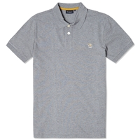 Paul Smith Regular Fit Zebra Polo Grey Marl