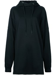 Strateas Carlucci Oversized Hoodie Women Cotton M Black