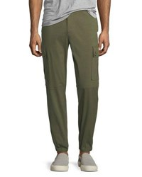 Versace Versus Cotton Cargo Pants Green