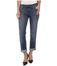 Kut From The Kloth Catherine Boyfriend Jean In Fervent Fervent Women's Jeans Blue