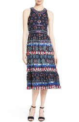 Kate Spade Women's New York Embellished Midi Dress