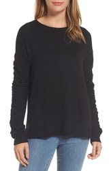 Caslon Ruched Sleeve Pullover