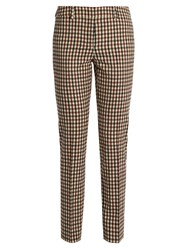 Max Mara Trionfo Trousers Tan Multi