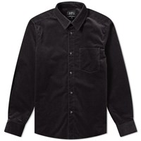 A.P.C. John Overshirt Grey