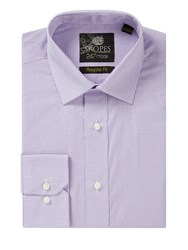Skopes 24 7 Mode Collection Formal Shirt Lilac