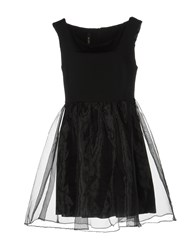 Lunatic Short Dresses Black