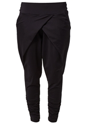 Casall Flow Tracksuit Bottoms Black