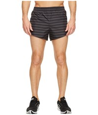Adidas Adizero Split Shorts Utility Black Men's Shorts
