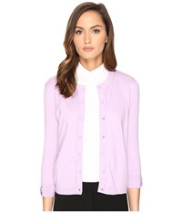 Kate Spade Somerset Cardigan Lilac Charm Women's Sweater Pink