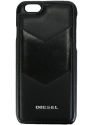 Diesel 'Card' Iphone 6 6S Case Black
