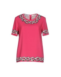 Moschino Cheap And Chic Moschino Cheapandchic Shirts Blouses Women Fuchsia