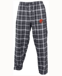Concepts Sport Cleveland Browns Ultimate Flannel Sleep Pants