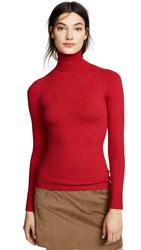 Joostricot Turtleneck Top Cochineal