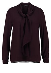 More And More Blouse Dark Cassis Bordeaux