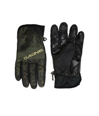 Dakine Crossfire Glove Peat Camo Snowboard Gloves Black