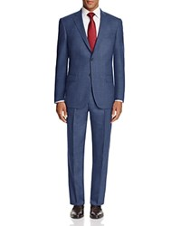 Hart Schaffner Marx Micro Texture Classic Fit Suit 100 Bloomingdale's Exclusive Blue