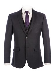 Racing Green Men's Bramley Charcoal Pick And Pick Jacket Charcoal