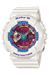 Baby G Ana Digi Watch 46Mm X 43Mm White